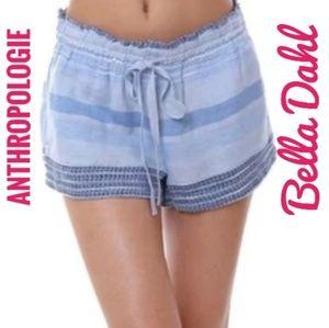 NWOT Anthropologie/Bella Dahl chambray shorts